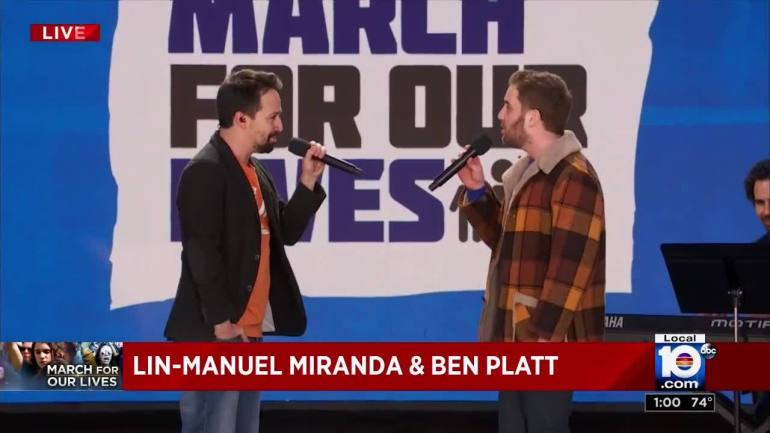 March for Our Lives in Washington Lin-Manuel Miranda and Ben Platt perform 'FoundTonight'20180324180938.jpg_11834641_ver1.0